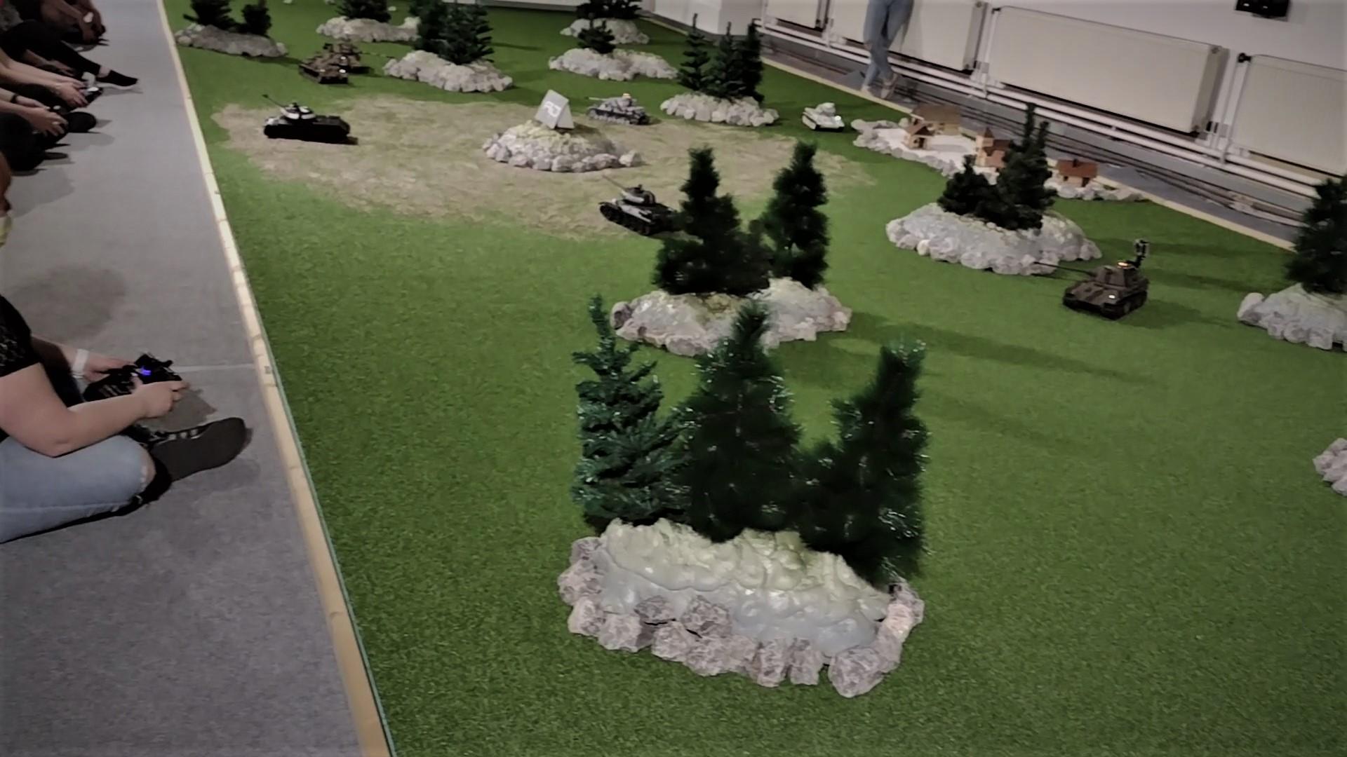 tankova arena hracia plocha