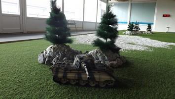 tanková aréna modely